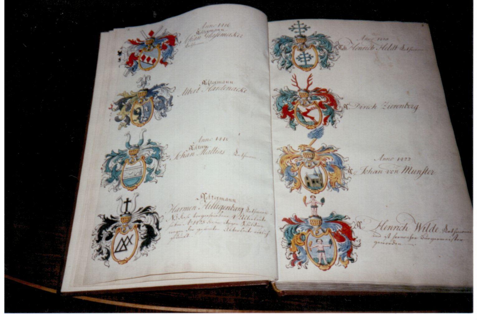 Das Große Wappenbuch der bremischen Kaufmannsgesellschaft