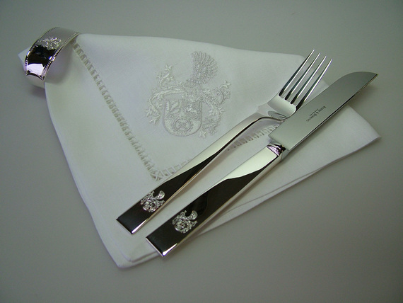 Textilien und tischw sche mit ihrem wappen pro heraldica for Pro heraldica