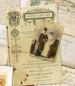 Ahnenforschung-Patent-Urkunde