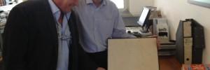 Gerard Cornielje und Dr. Rolf Sutter