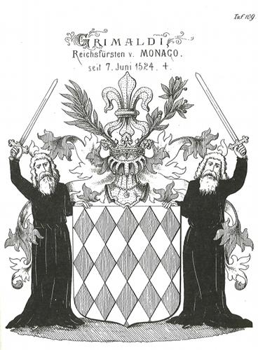 historisches Grimaldi Wappen