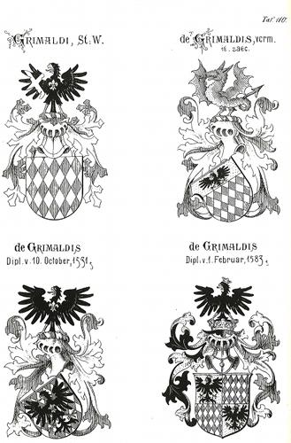Abb. 2 historische Grimaldi Wappen
