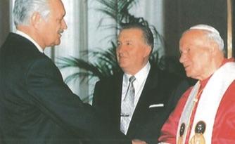 Dr. Alexy und Papst Johannes Paul II