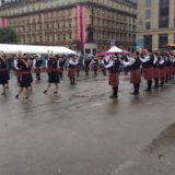 Internationales Piping Festival auf dem George Square