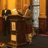 Eröffnung des Céilidh in den City Chambers Glasgow