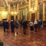 Céilidh in den City Chambers Glasgow