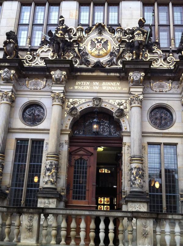 Haus Schütting - Der Sitz der Handelskamer Bremen