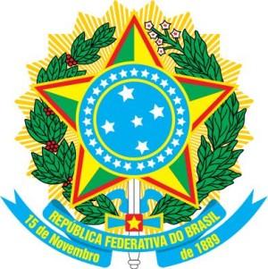 Wappen von Brasilien