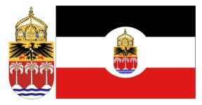 Wappen-Flaggenentwurf-Samoa-vor1914