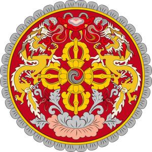 Emblem von Bhutan
