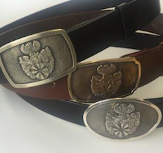 Die Pro Heraldica Gürtelschnallen aus Messing, Neusilber und Silber im Überblick