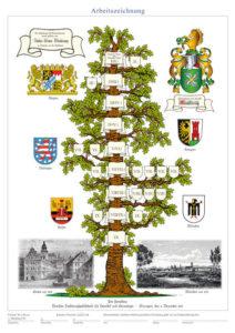 Schritt 1 Erstellung eines Stammbaums: Stammbaumentwurf