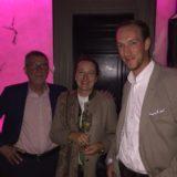 Dr. Rolf Sutter, Petra Heimbach und Clemens Kech