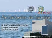 Plakat Genealogentag Bregenz
