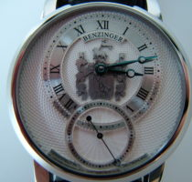Uhr 'Subskription III' mit Wappen Wolf