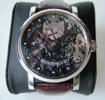 Uhr Modell 'Vollskelett'