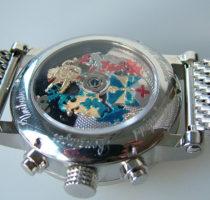Uhr 'Zeitmaschine' Unterseite